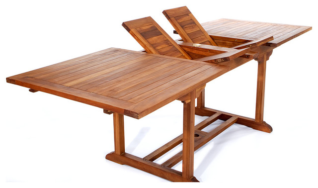 Choose Heavier Teak Furniture