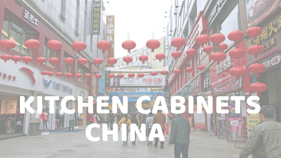 Chinese Manufacturing Kitchen Cabinets