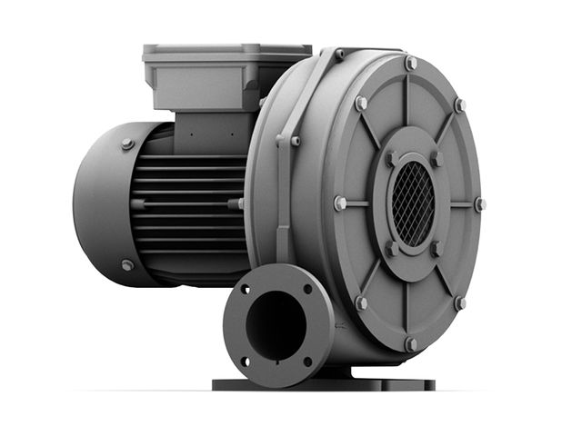 Industrial radial fan