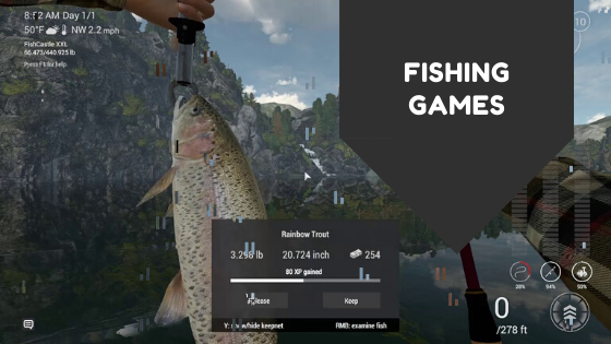 Fishing games online